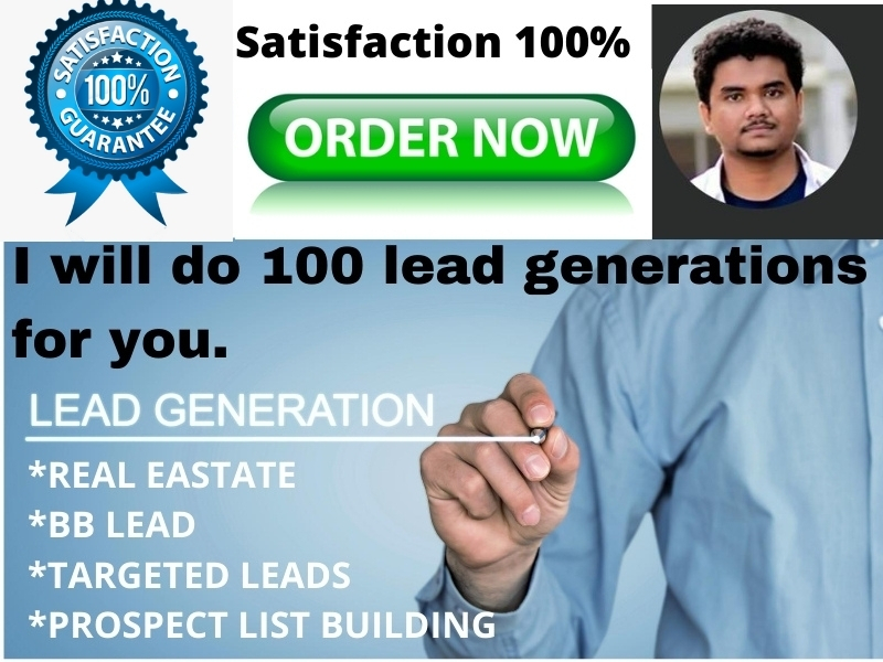 I will do 100 lead generations for you