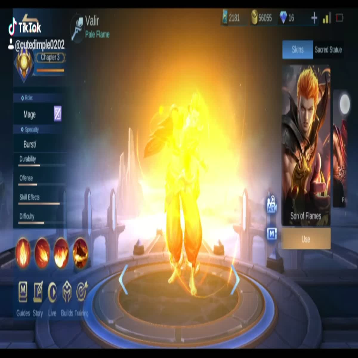 Mobile Legend Cool Videos and Creative effects