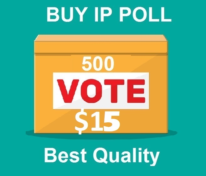 Get 500 Different ip votes on your online poll