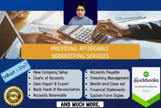 Bookkeeping with Quickbooks Certified ProAdvisor Online