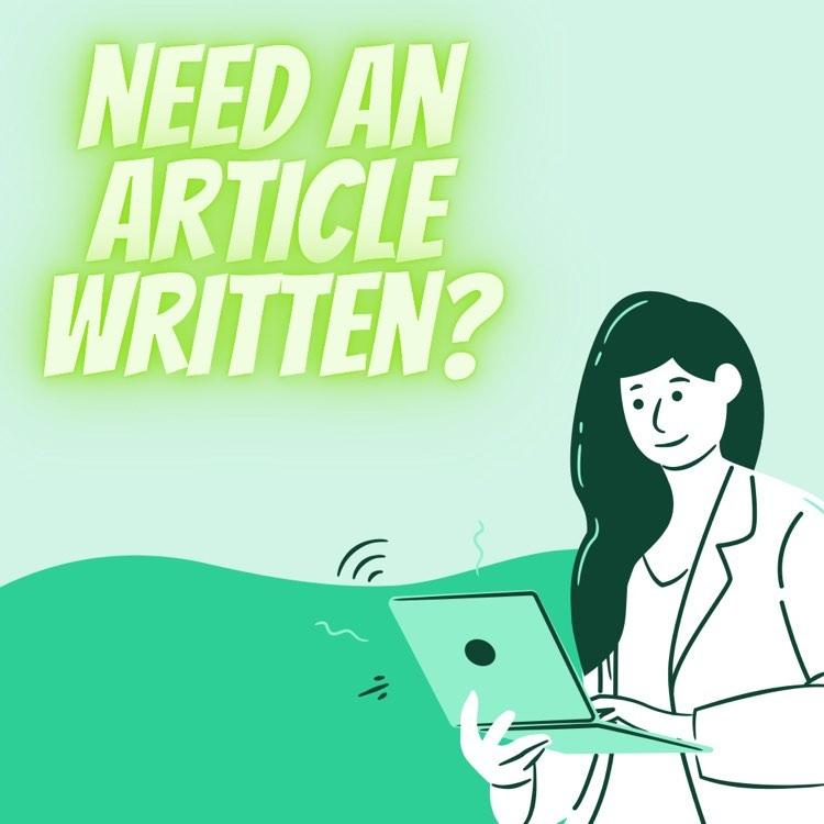 Receive a 400 word article Have it delivered in no less then 3 days