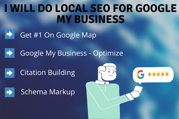 I will do local SEO for google my business