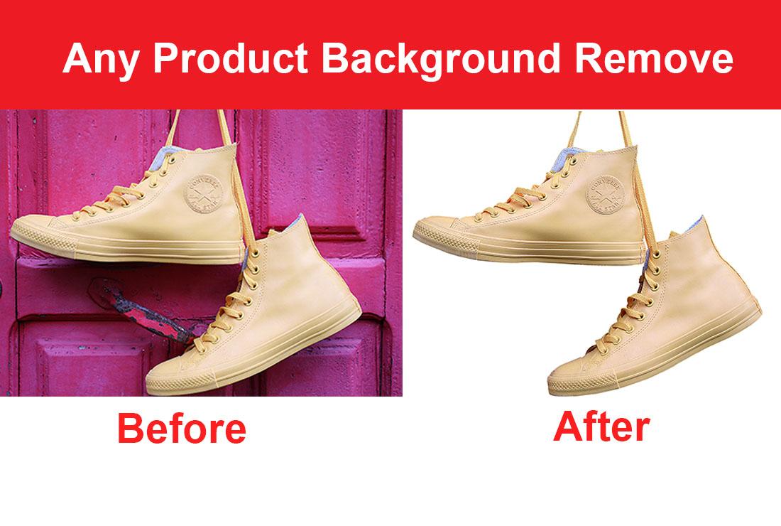 I will do product photo background remove or change,  image resizing,  retouching