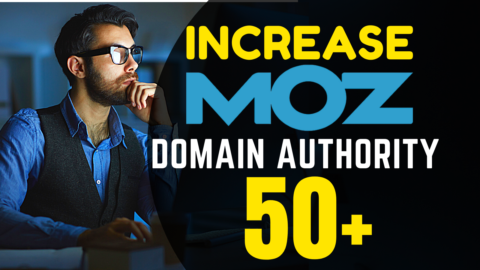 I will increase domain authority and rating DA DR 50 plus