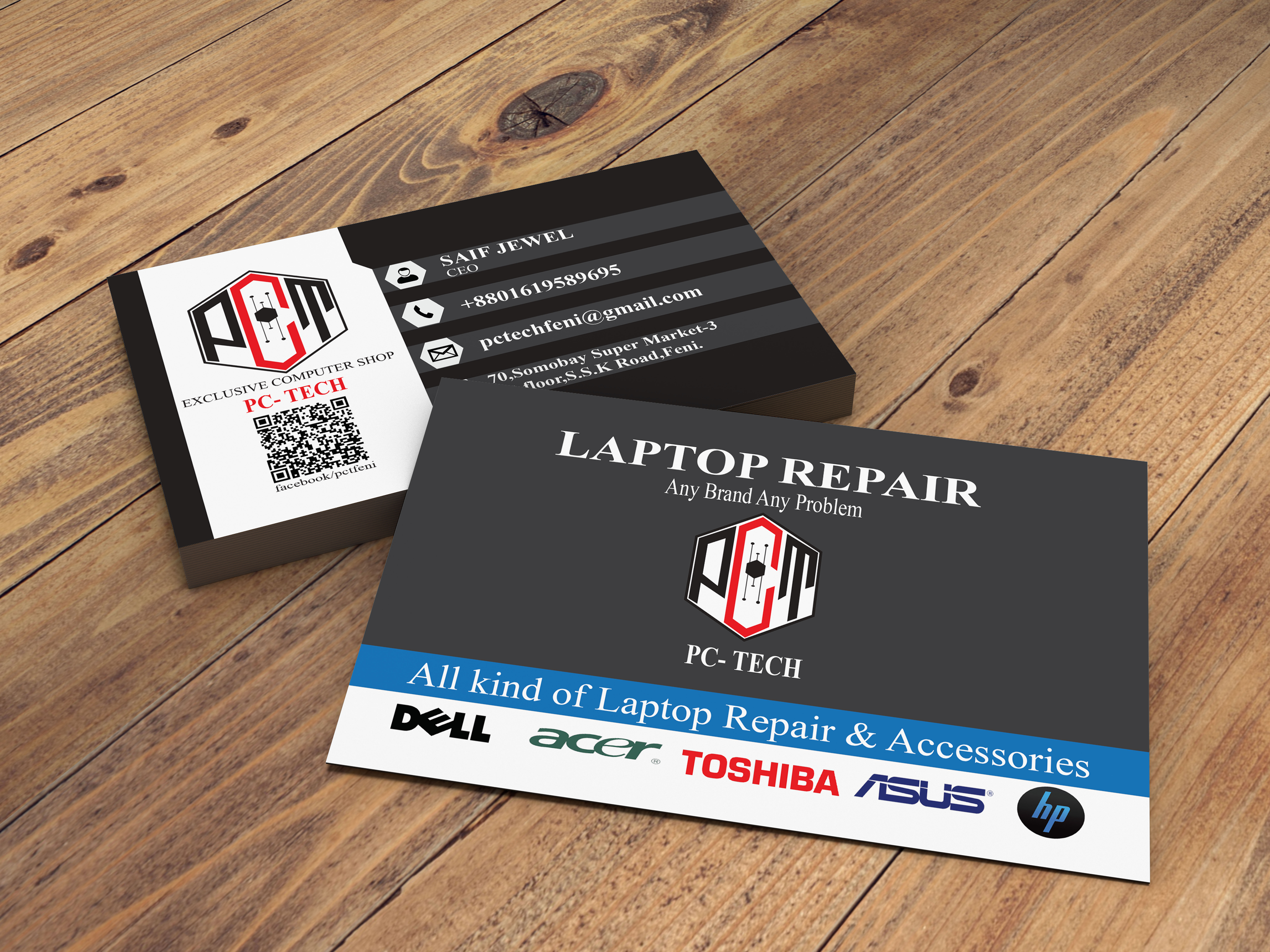 I will create luxury business card design.