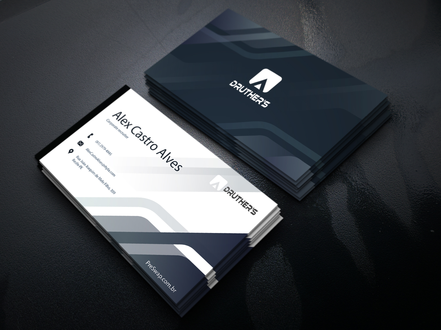 I will provide business card design professional