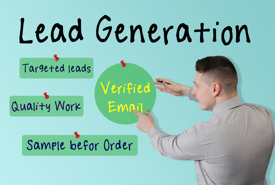 B2B Lead Generation with 100 verified Email