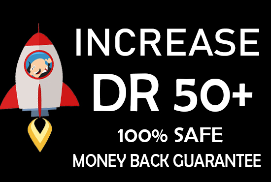 we do increase domain rating DR ahrefs to 50plus in just 15days