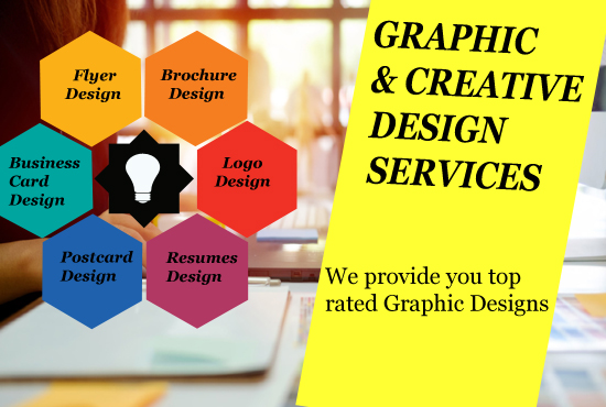 I will provide you an eye catching graphic designing