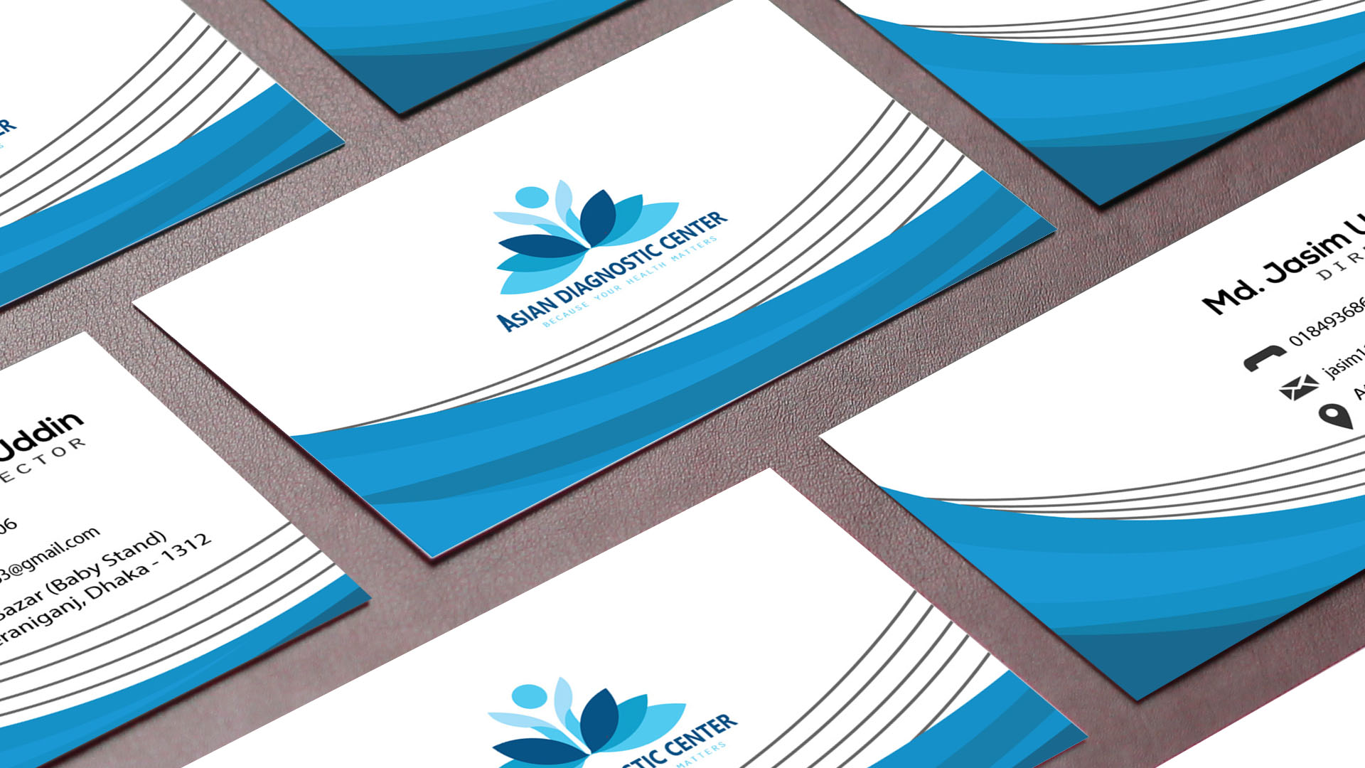 I will design outstanding business card for you in 4 hours
