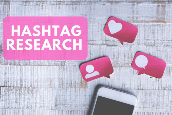 I will research best hashtags for your instagram, facebook, twitter, tiktok