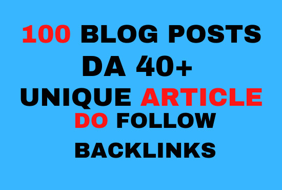 I will provide 2 blog,  guest,  article,  dofollow backlink,  backlinks