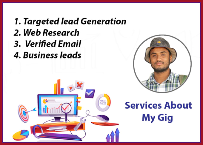 I will do b2b lead generation and email list building