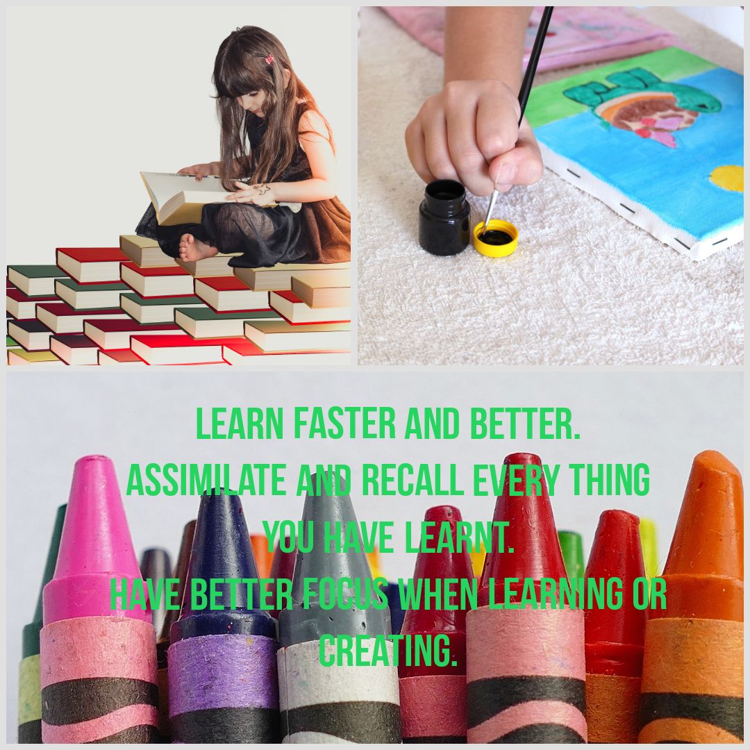 Learn better & faster. Improve concentration & focus within 30 days or get a refund.