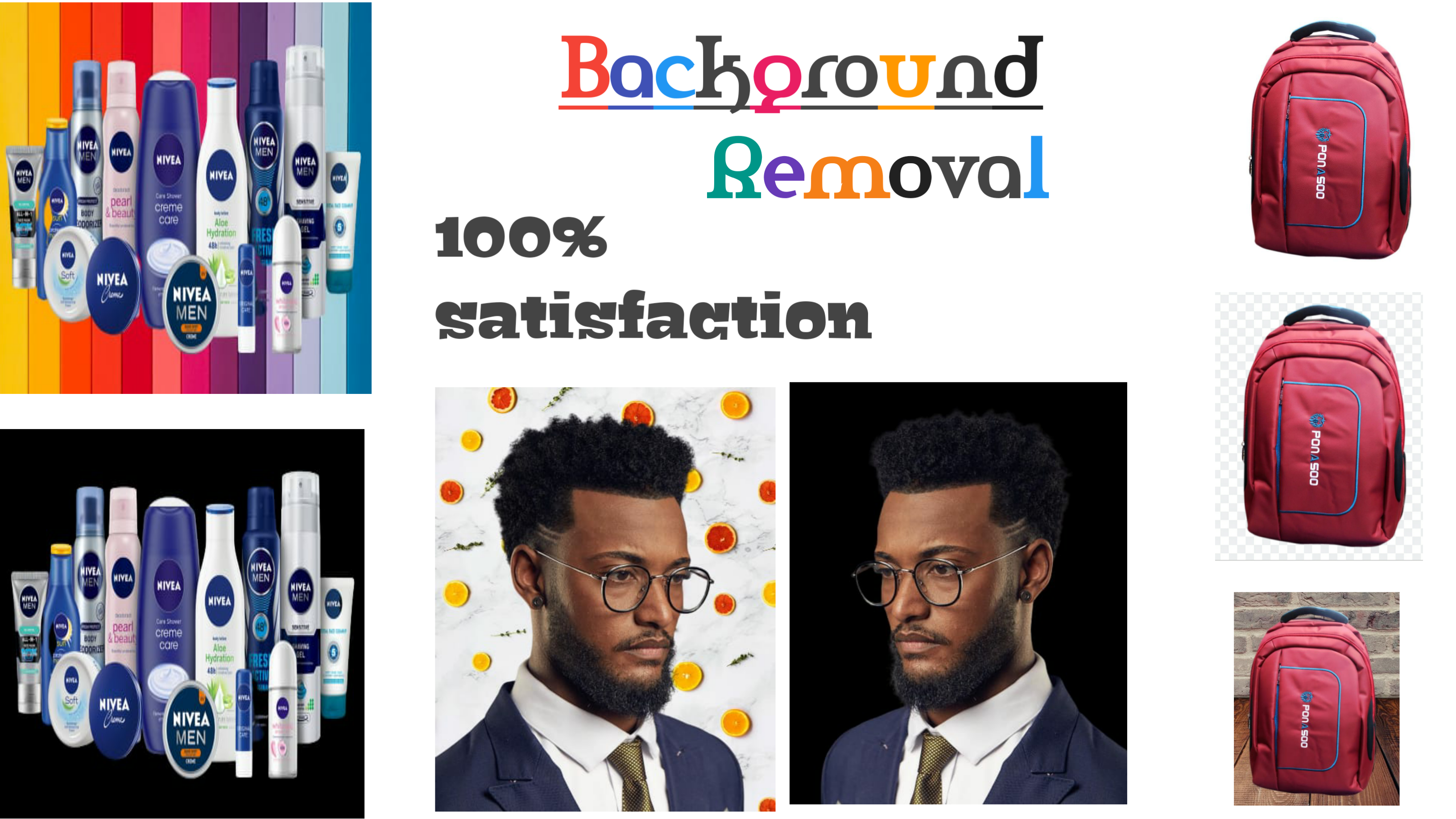 I will do photoshop editing picture background removal