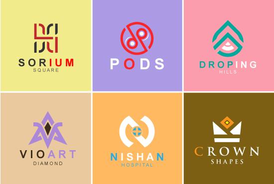 create custom minimal unique and simple logo design