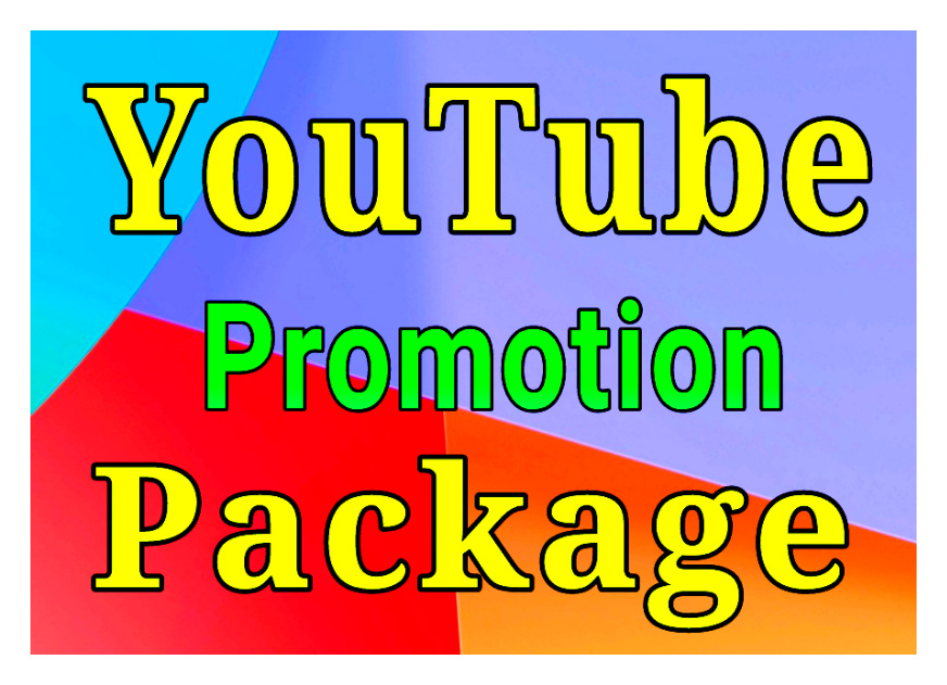 Guaranteed YouTube promotion package