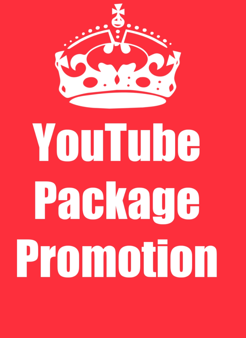 Amazing High Quality YouTube Promotion package