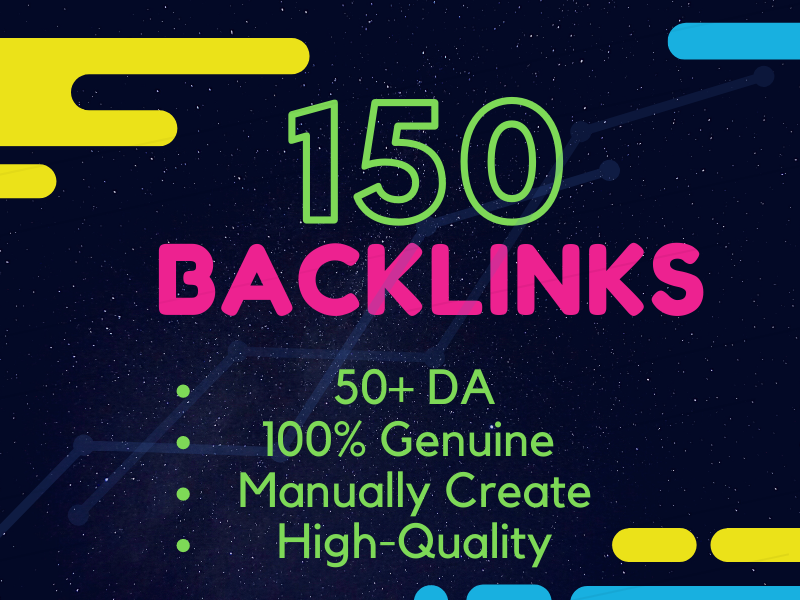 I will Create 150 Dofollow Profile Backlinks with high-quality DA and PA