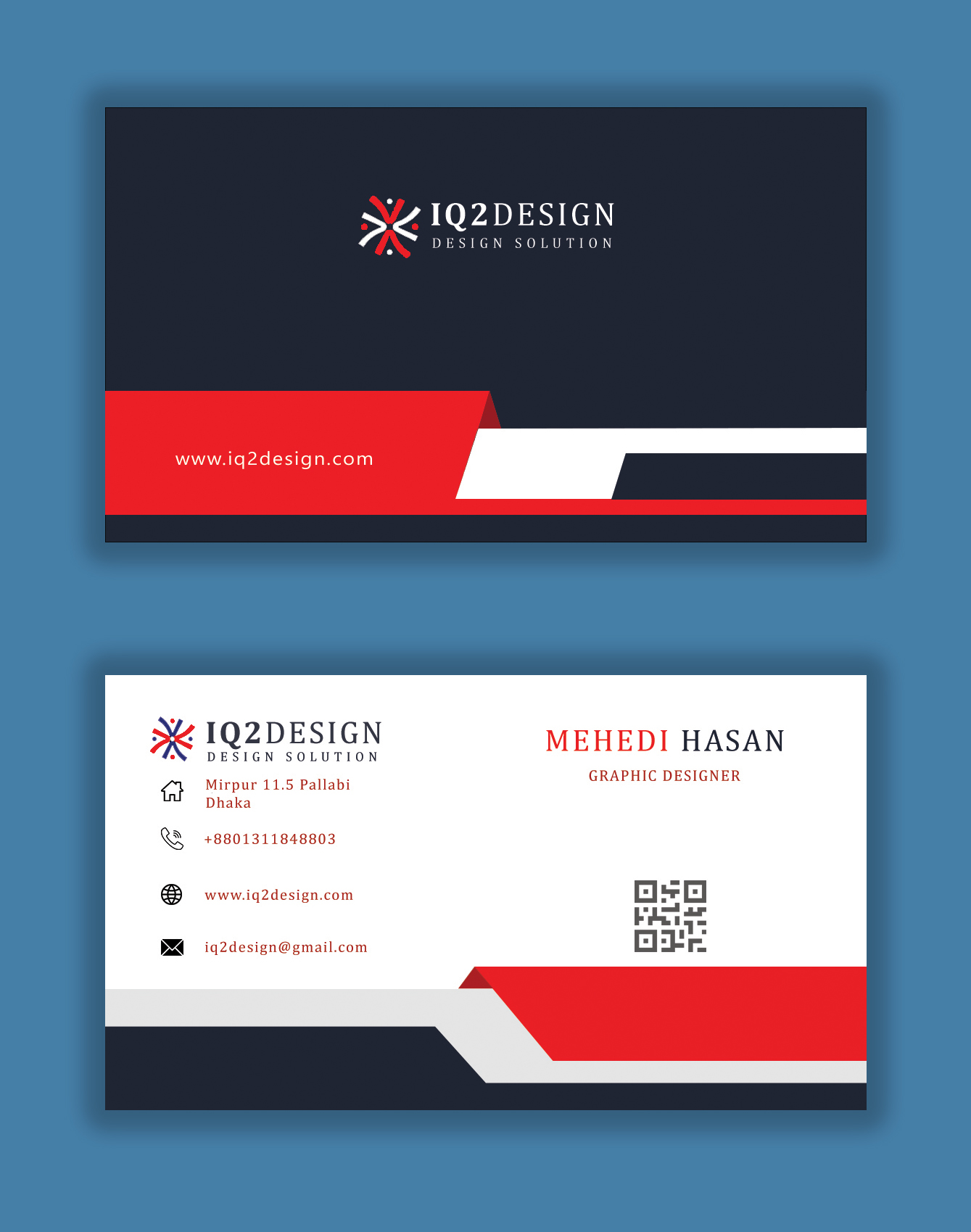 I will design print ready business card