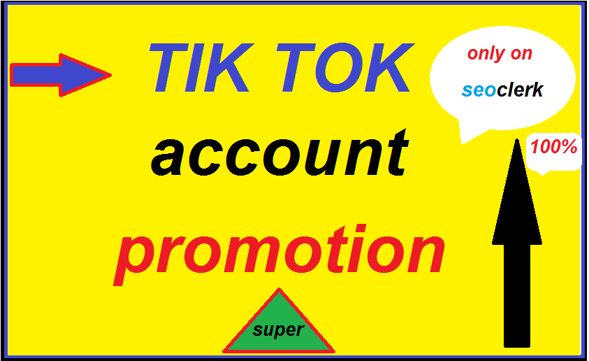 Real and Active Audience TikTok Video Account Promotion