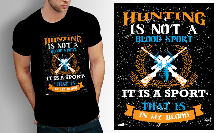 I will design your t-shirt with graphic and typography