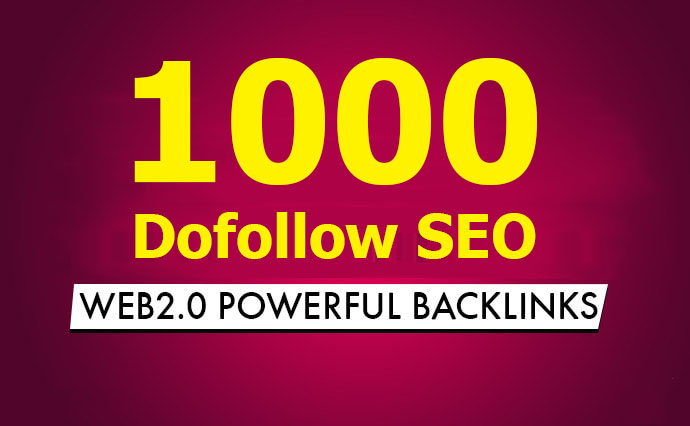 do 1000 contextual dofollow seo backlinks for google ranking