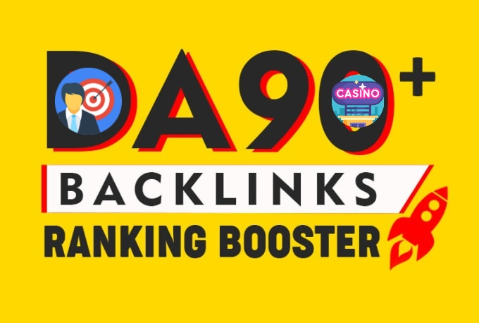 I will boost your google rankings with 600 high pr quality live manual SEO backlinks casino poker