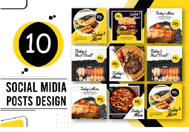 I Will Create Professional Social Media Post Design For You For 1 Seoclerks