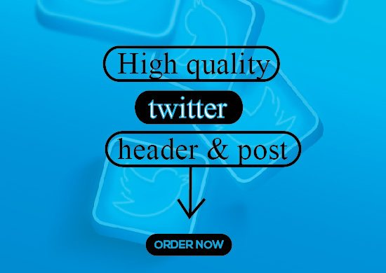 I will design eye catching twitter headers for you