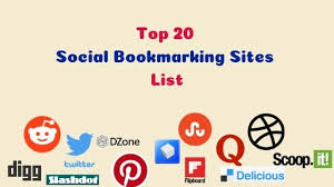 I Will Create manually Top 20 SOCIAL BOOKMARKING sites With in 24 hours