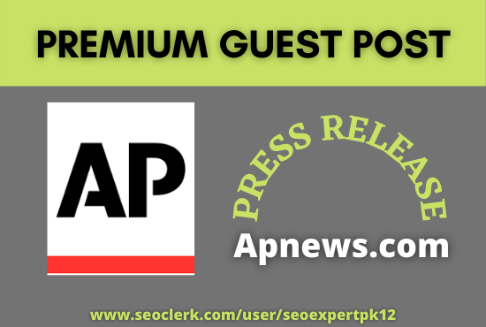 Will do Guest Post Apnews Press Release