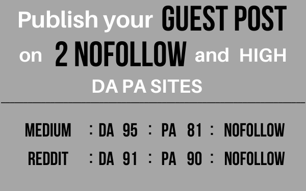 I will Publish 2 High Quality GUEST POST DA 90+ Sites