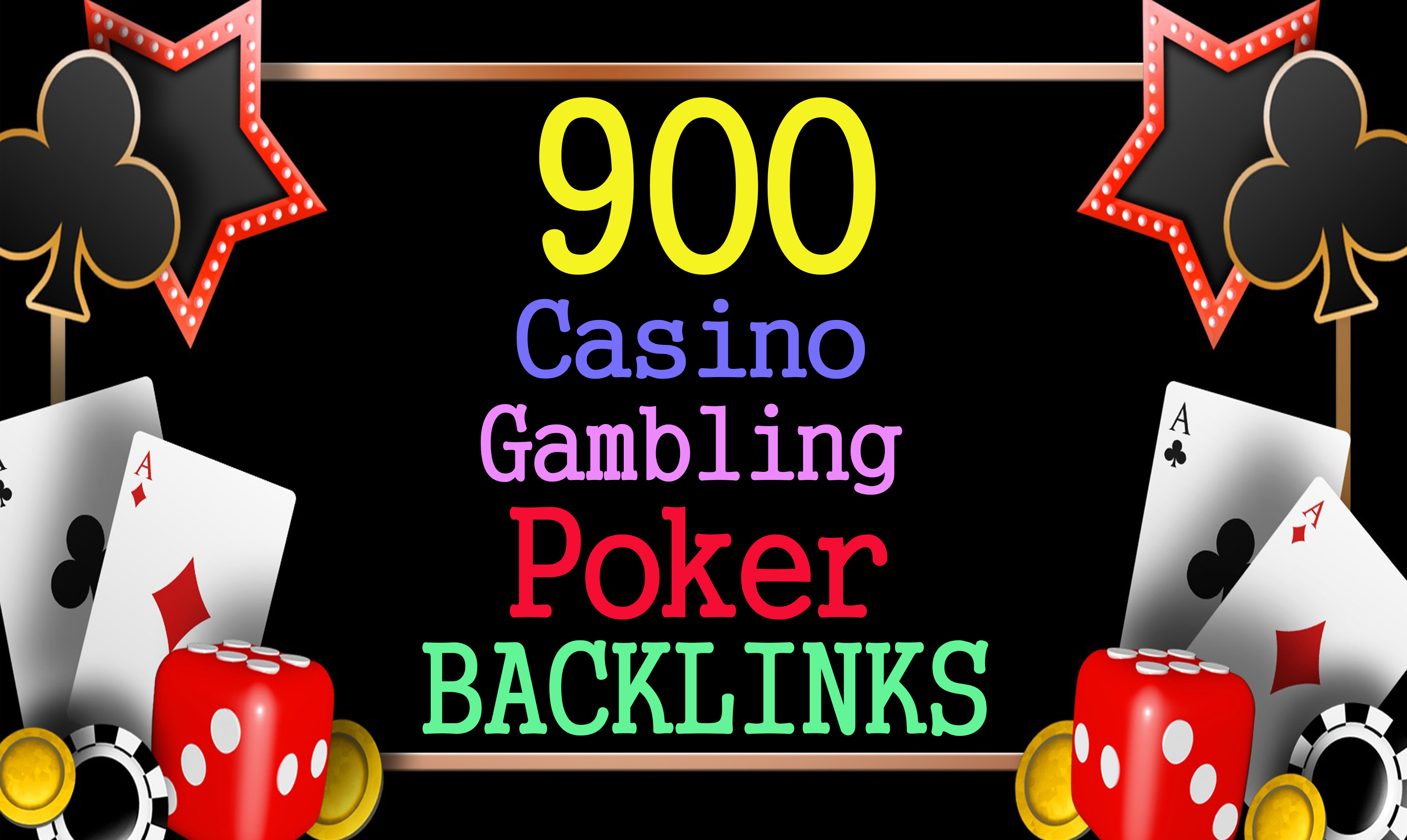 Permanent 900 powerful judi bola,  Casino,  Gambling,  Poker,  Sports High Quality Web2.0 Backlinks