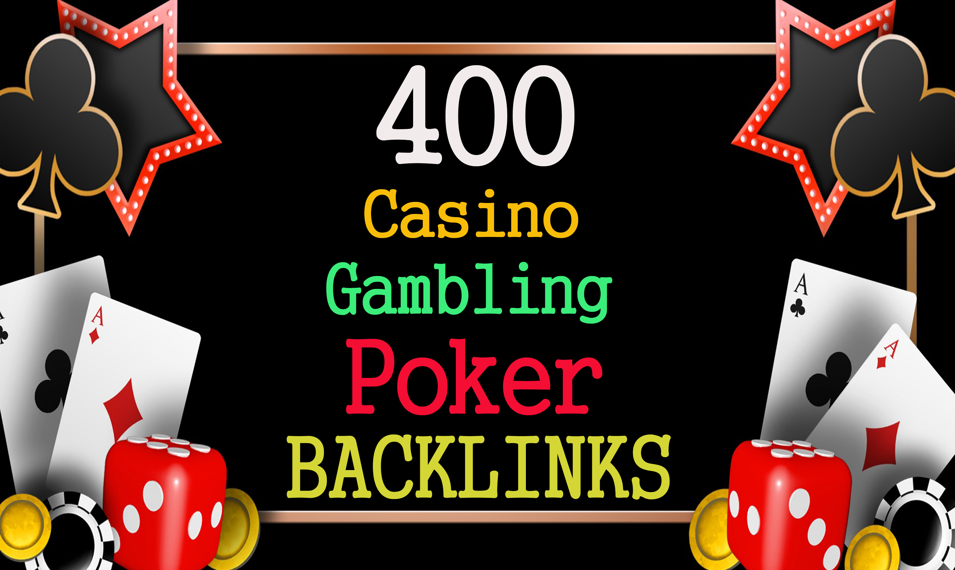 Permanent 400 powerful judi bola,  Casino,  Gambling,  Poker,  Sports High Quality Web2.0 Backlinks