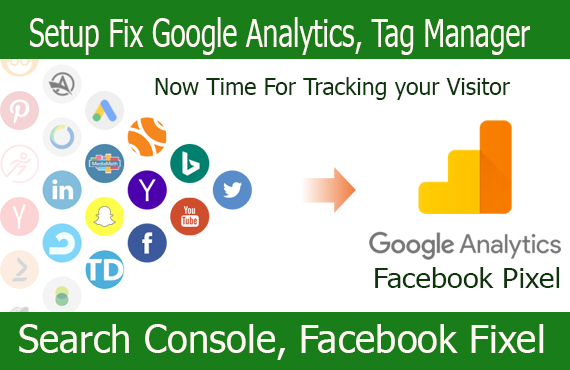 i will Setup and manage your google analytics