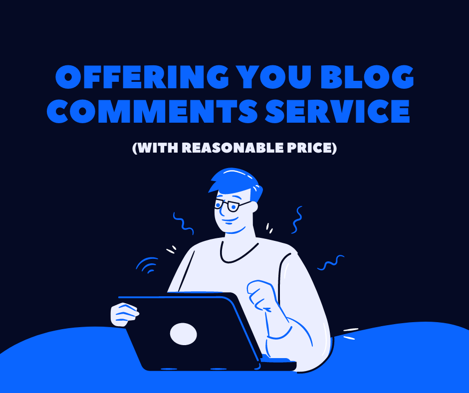 I'll blog comments with reasonable price in time