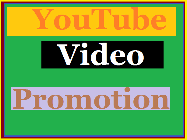 YouTube video promotion & marketing worker