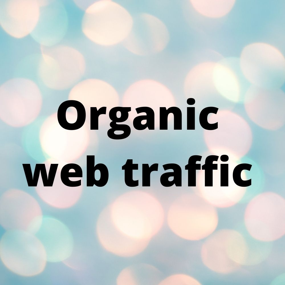 I will drive organic UK traffic And search traffic using keywords