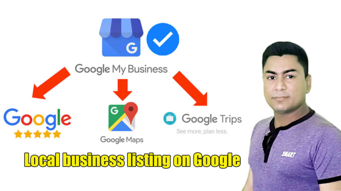 I will create and verify your local business listing on google