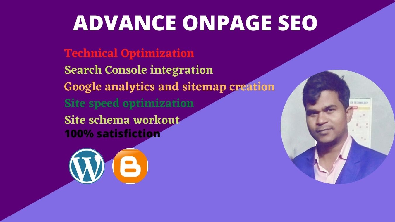 Advance on-page seo and local seo