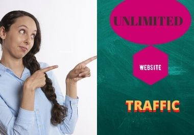 I will amplify unlimitied human traffic by google youtube twitter and many more website for 3 dayes