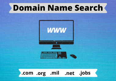I will do domain name search for your website