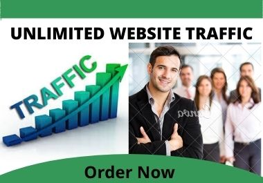 Bring UNLIMITED and AUTHENTIC Website TRAFFIC