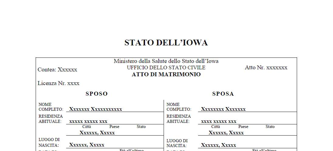 I will translate your certificates for italian citizenship