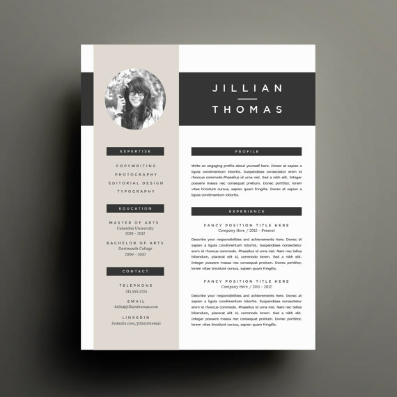 I will design your resume and cover letter