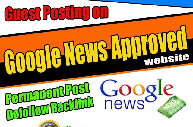 Do Guest posting in my Google news approvad website Dr 40+