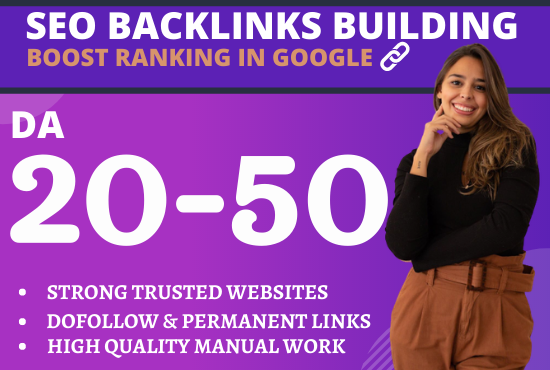 Build 5 Dofollow High DA 20 to 50 PBN Backlinks For Offpage SEO- Proof Google Ranking 2020