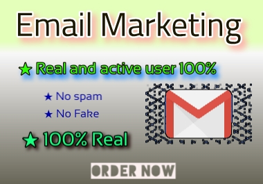 5k usa real email list for marketing
