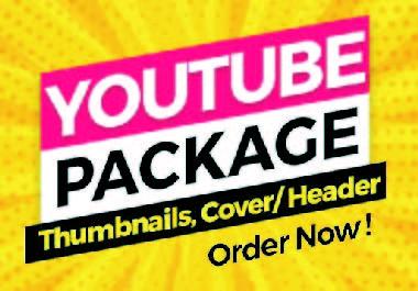 I will design eye catching Youtube thumbnail